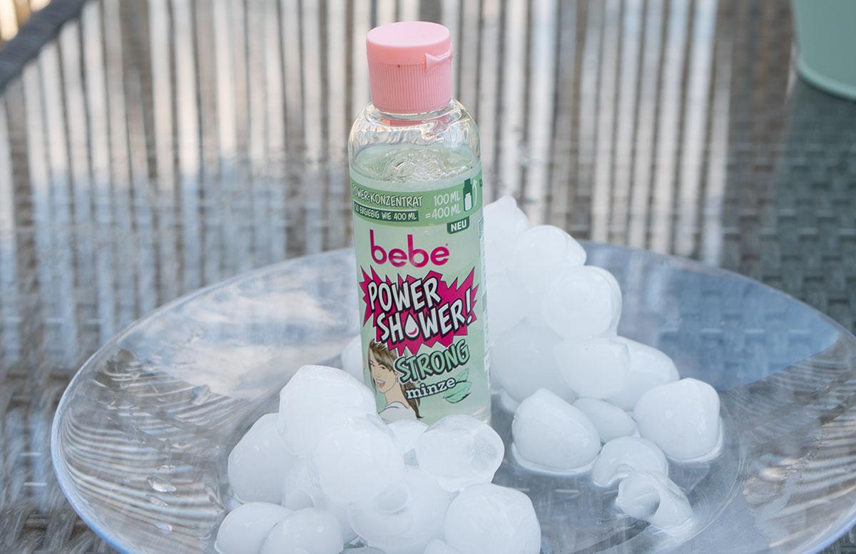 Erfrischende-Beauty-Produkte-für-heiße-Tage-bebe-power-shower-strong-minze