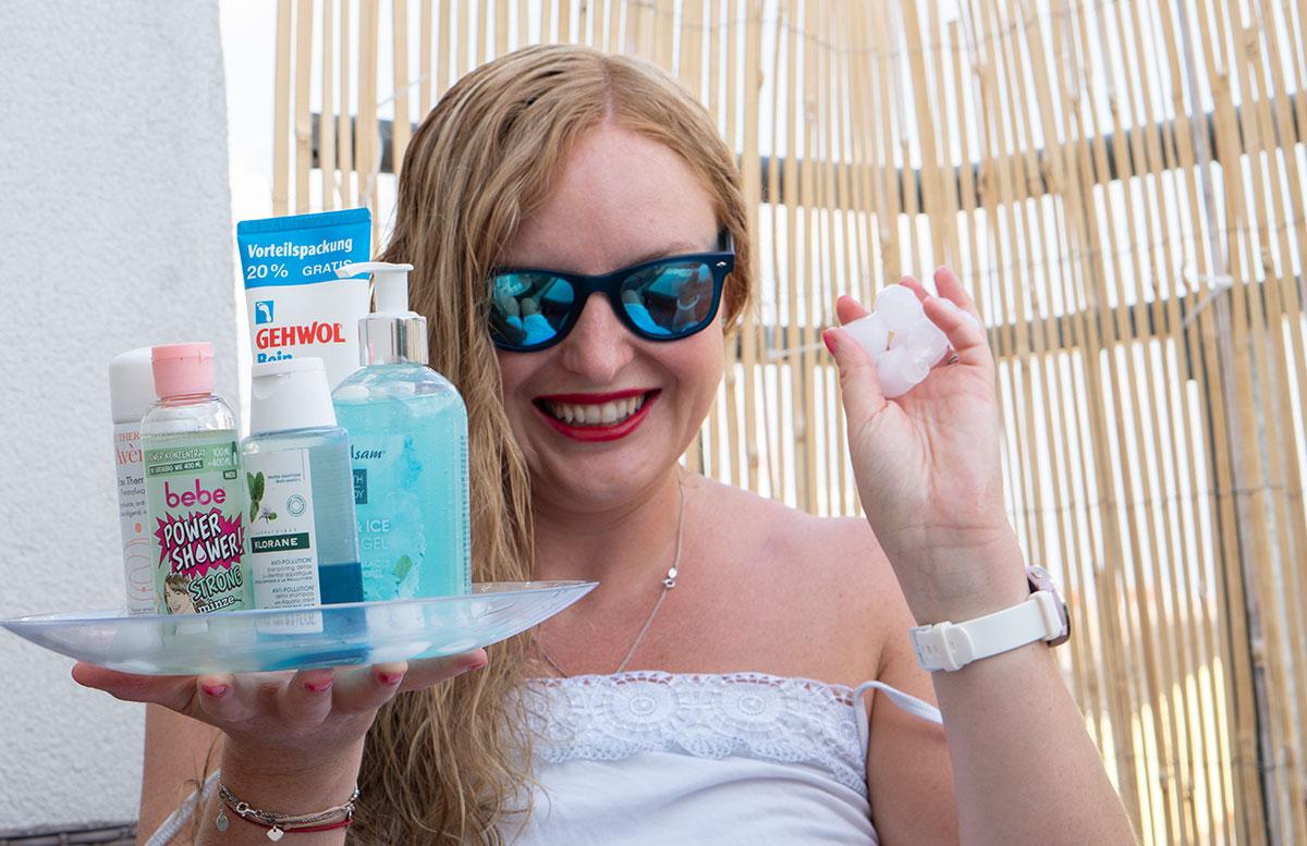 Erfrischende-Beauty-Produkte-für-heiße-Tage-eiswürfel