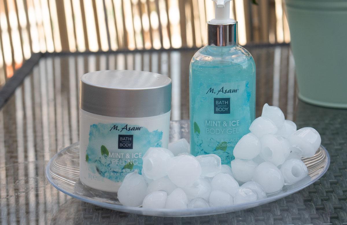 Erfrischende-Beauty-Produkte-für-heiße-Tage-m-asam-mint-and-ice