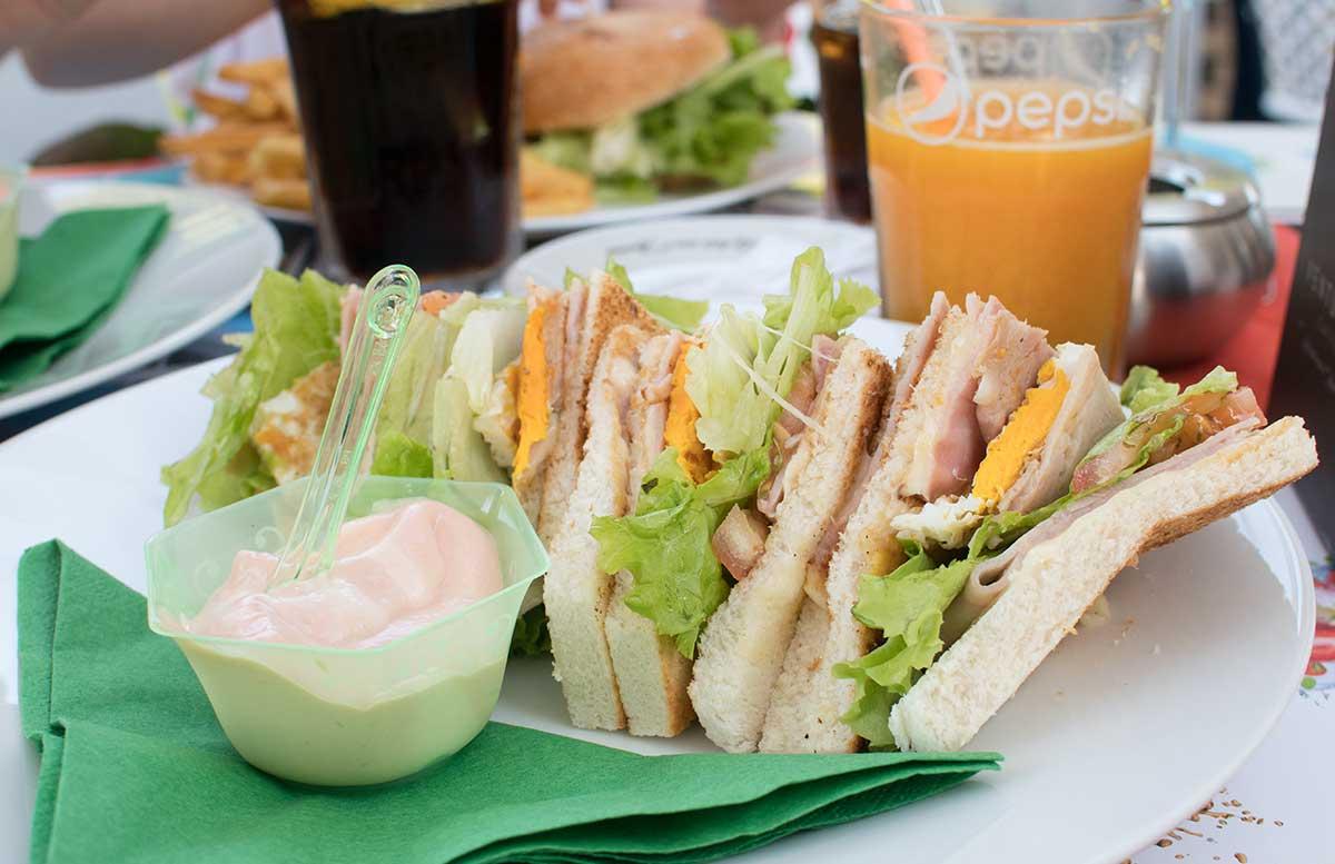Europa Camping Village Cavallino Venezia club sandwich