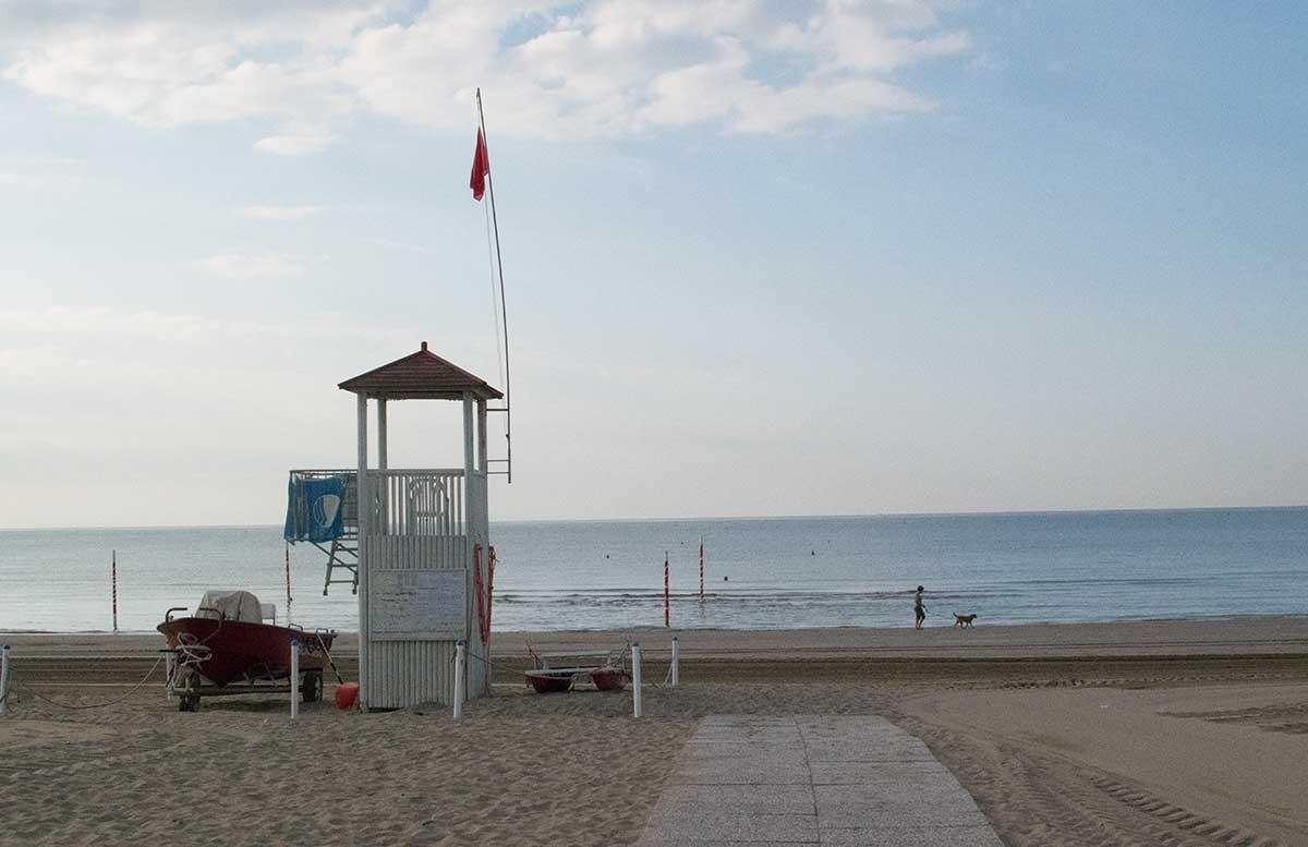 Europa Camping Village Cavallino Venezia strandabschnitt bademeister