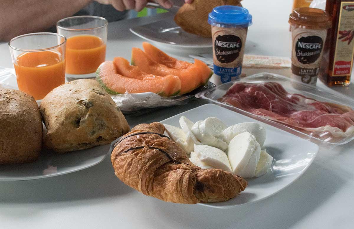 Europa Camping Village Cavallino Venezia frühstück