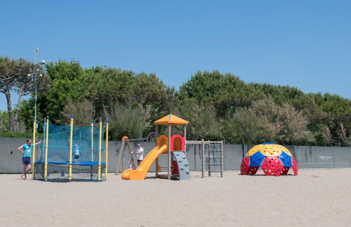 Europa Camping Village Cavallino Venezia strand spielplatz
