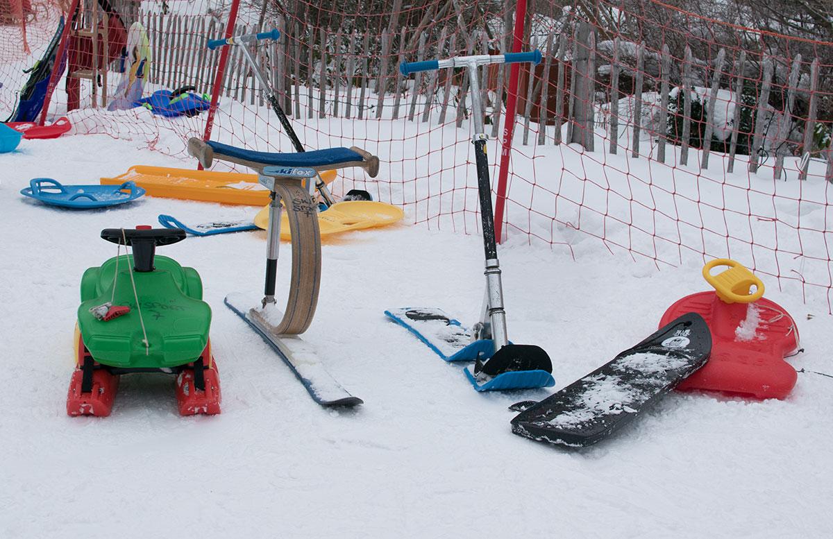 Familienausflug - Skifahren in St. Corona am Wechsel bob und rodelland
