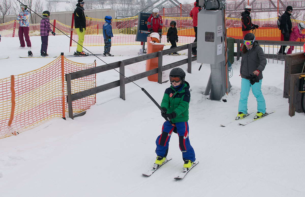 Familienausflug - Skifahren in St. Corona am Wechsel tellerlift lenny