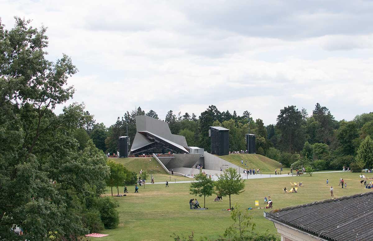 Familientag in Grafenegg - Hokuspokus Musikus orchester wolkenturm