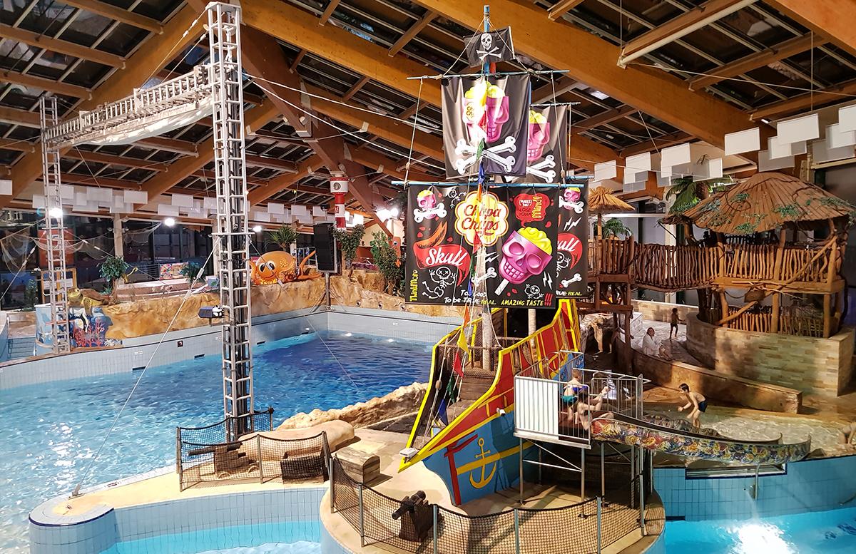 Family und Wellness Hotel Aquapalace Prague piratenschiff