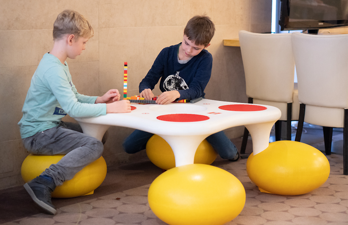Family und Wellness Hotel Aquapalace Prague pancakes legoecke