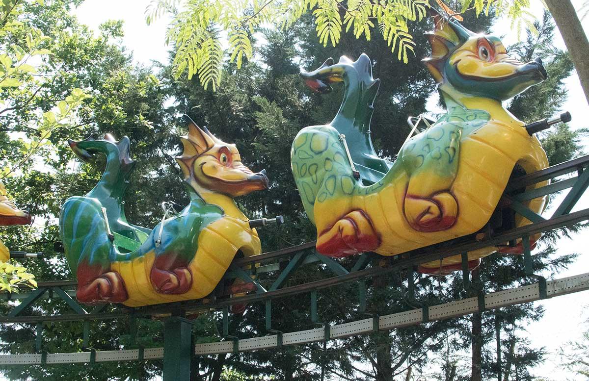 Neuheiten im Familypark in St. Margarethen drache