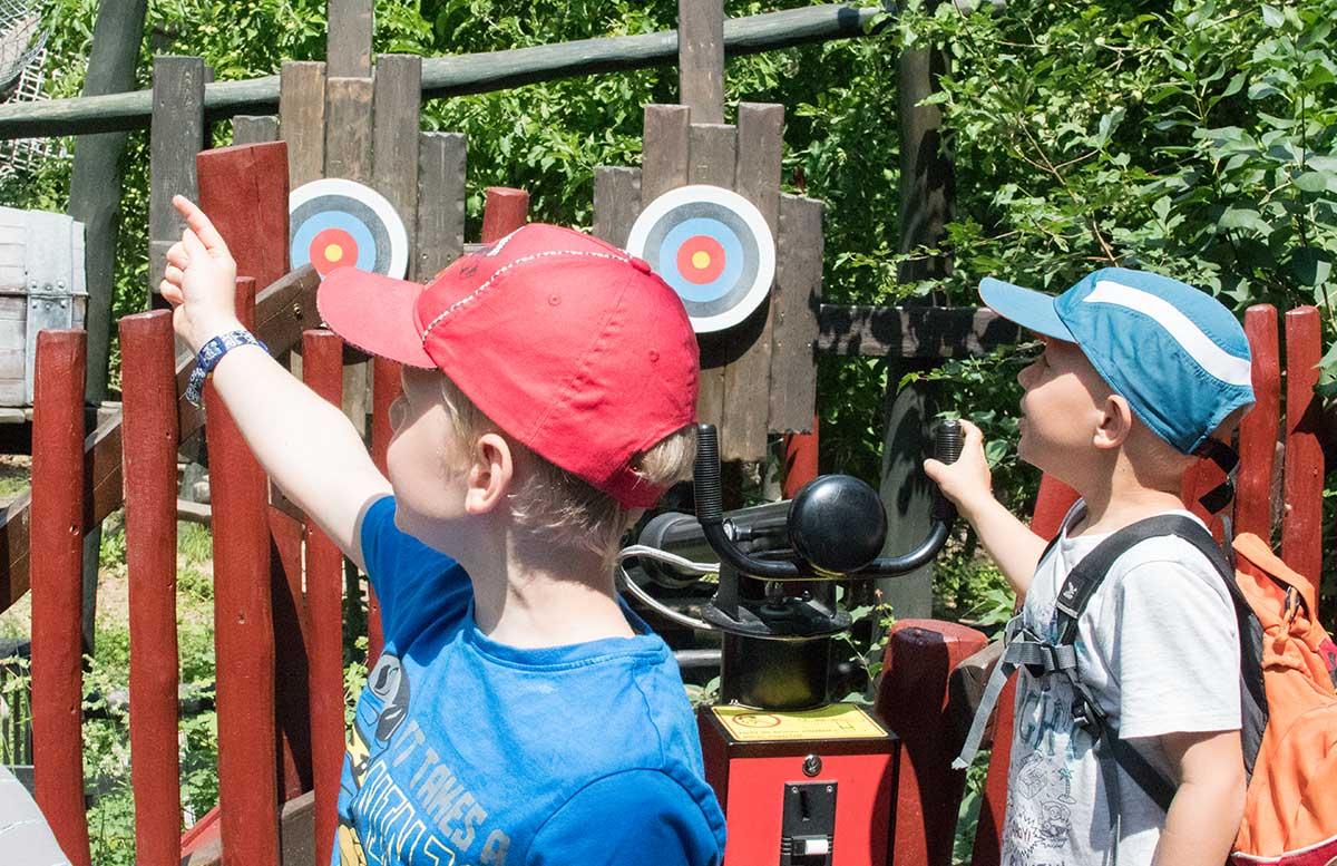 Neuheiten im Familypark in St. Margarethen klettergarten kinder abschießen
