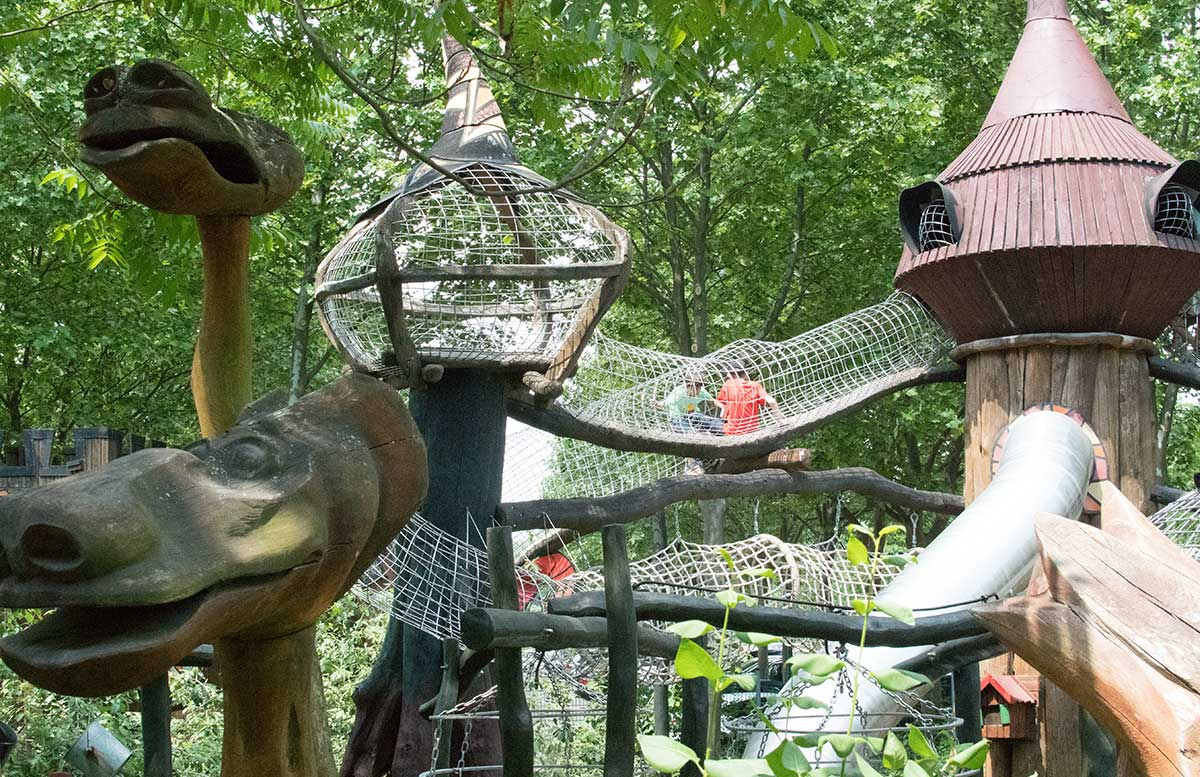 Neuheiten im Familypark in St. Margarethen klettergarten
