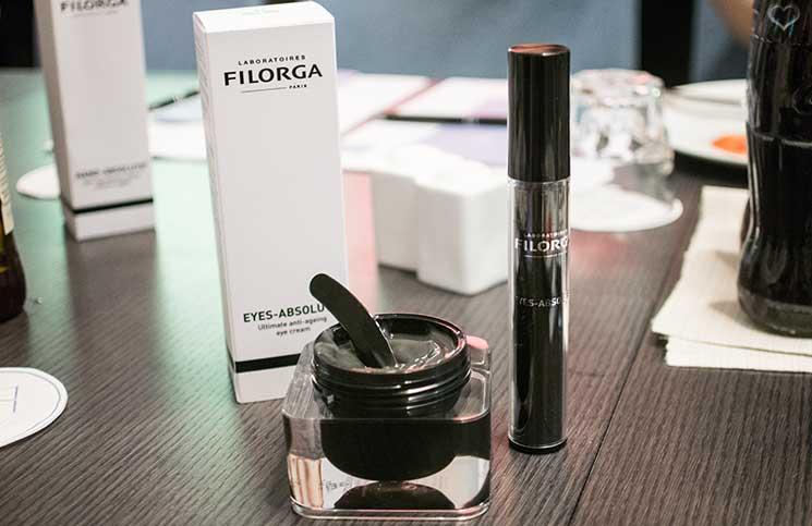 Filorga-Eyes-Absolute-Augenpflege-im-bild-mit-der-maske