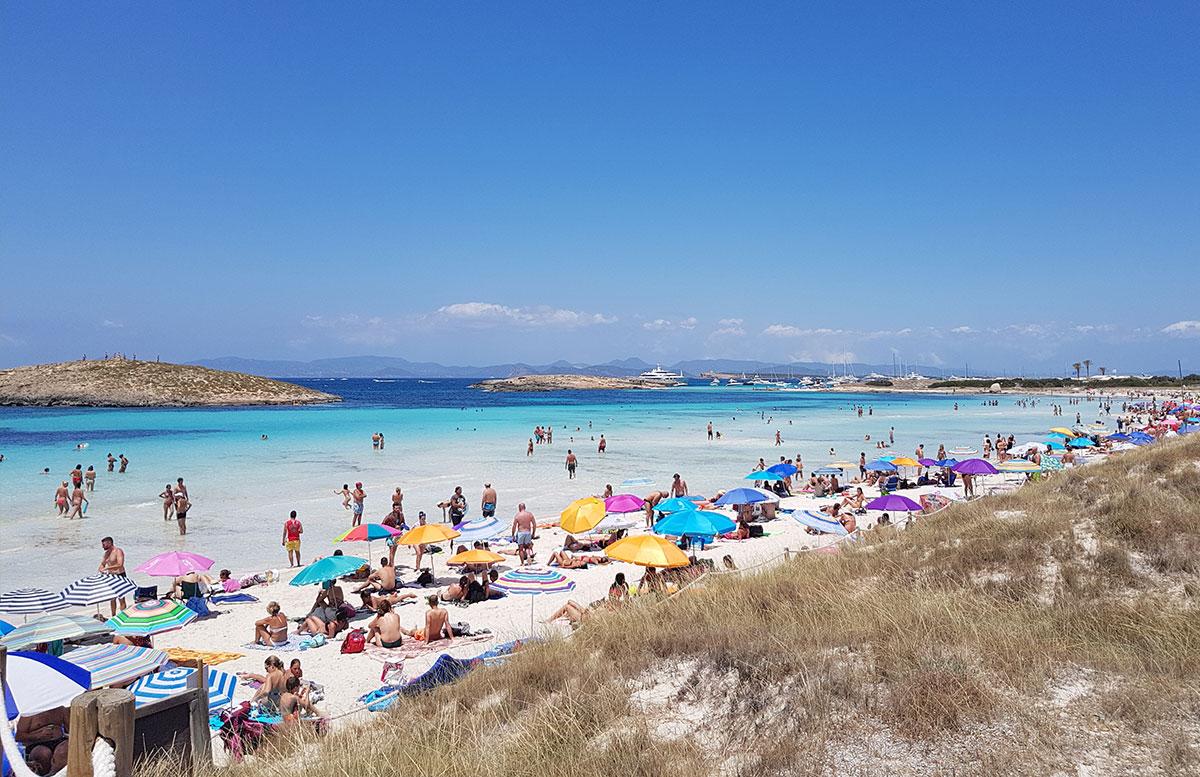 Formentera-Traumstrand-playa-illetes-aussicht