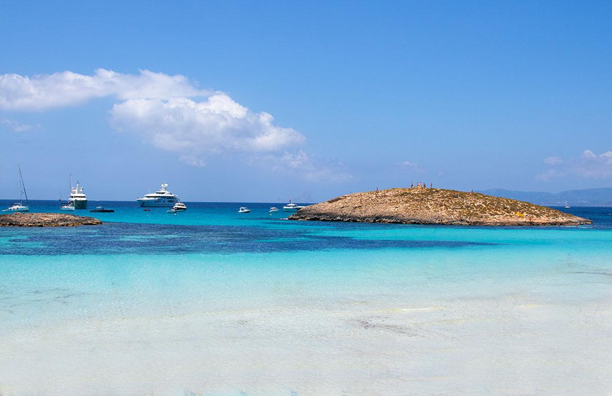 Formentera-Traumstrand-playa illetes verlassen