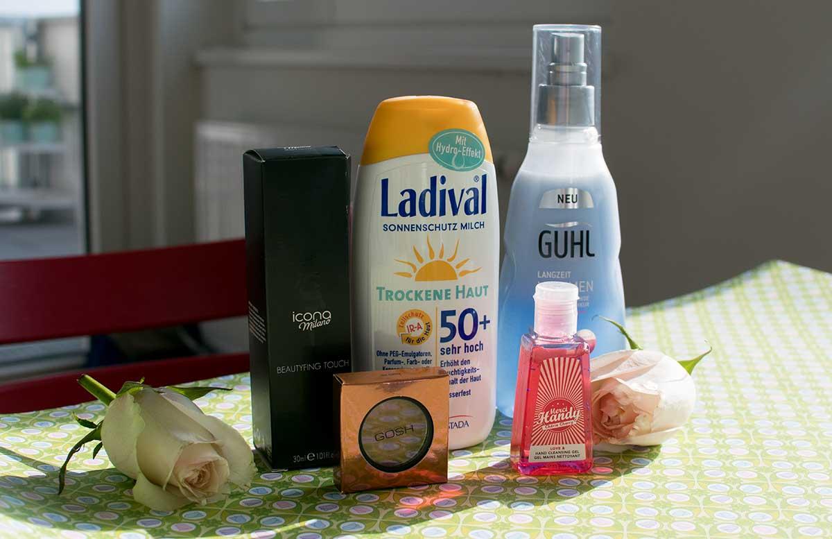 Fr  hlingserwachen Glossybox April alle Produkte