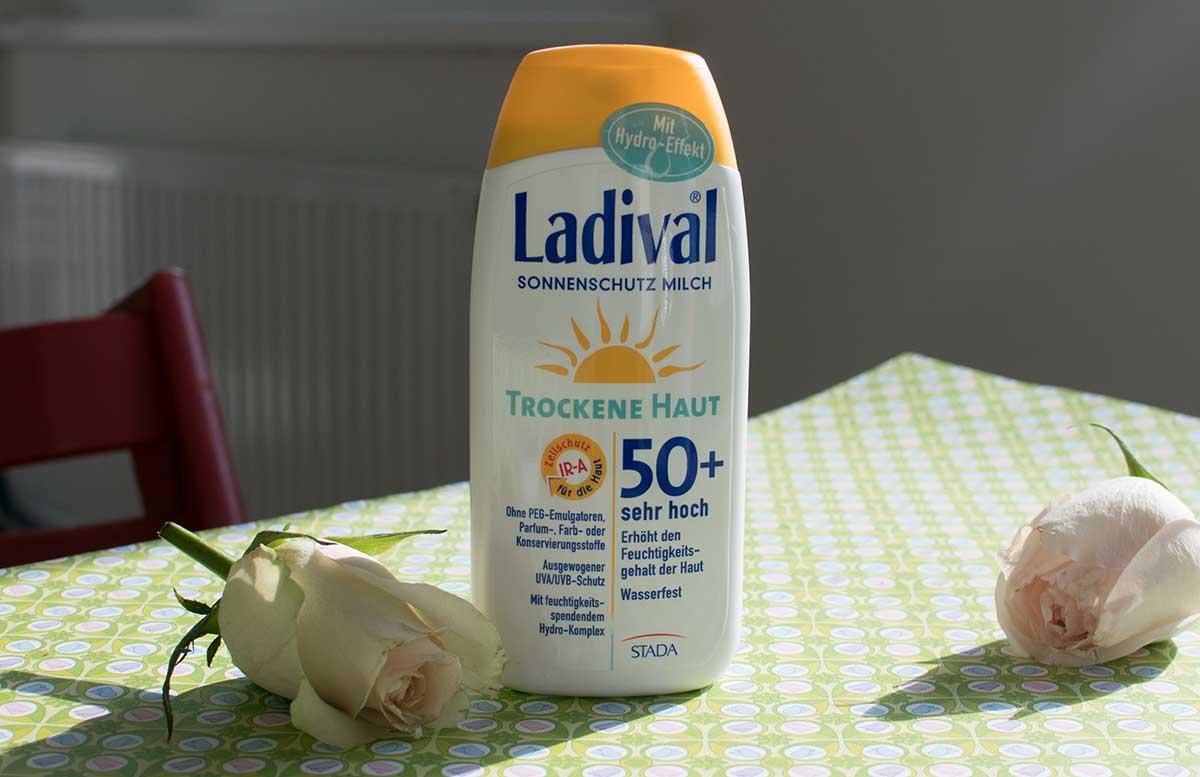 Fr  hlingserwachen Glossybox April ladival sonnenschutzmilch
