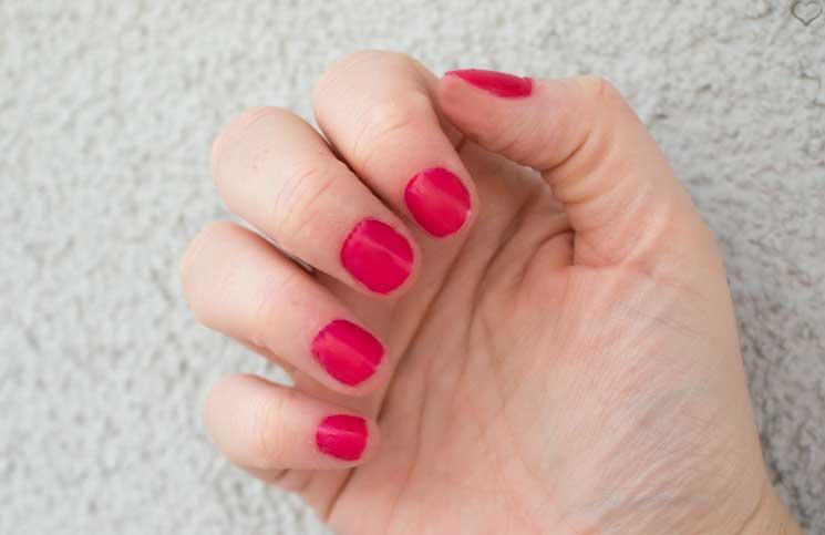 french manicure mit sensationail gel nagellack. Black Bedroom Furniture Sets. Home Design Ideas