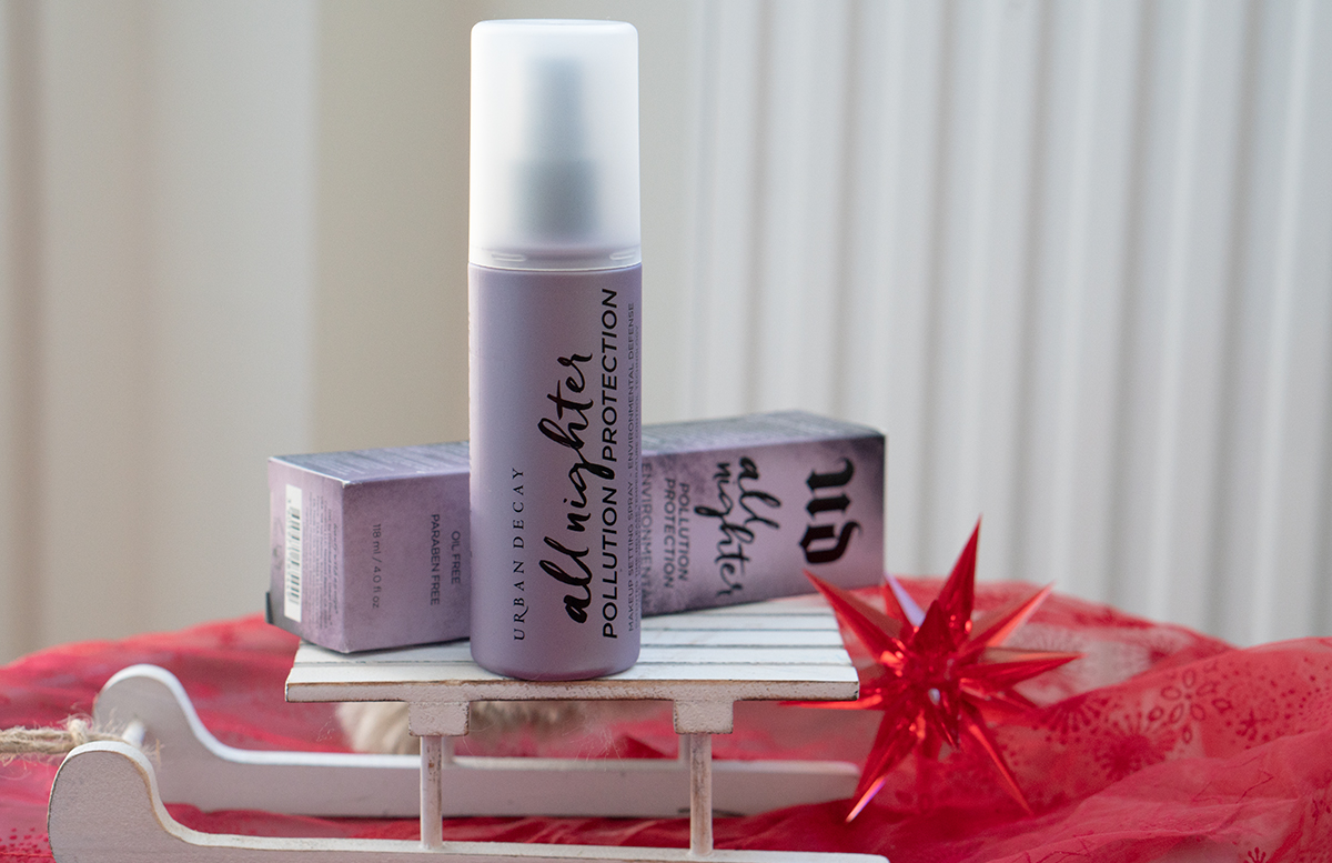 GEWINNSPIEL 2. Advent - Gewinne ein Urban Decay Package zu gewinnen all nighter fixing spray