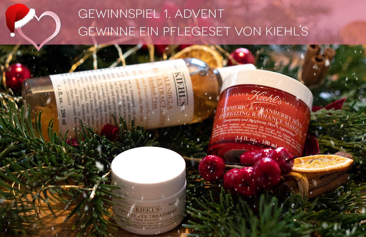 GEWINNSPIEL 1. Advent - Gewinne ein Pflegeset von Kiehl's