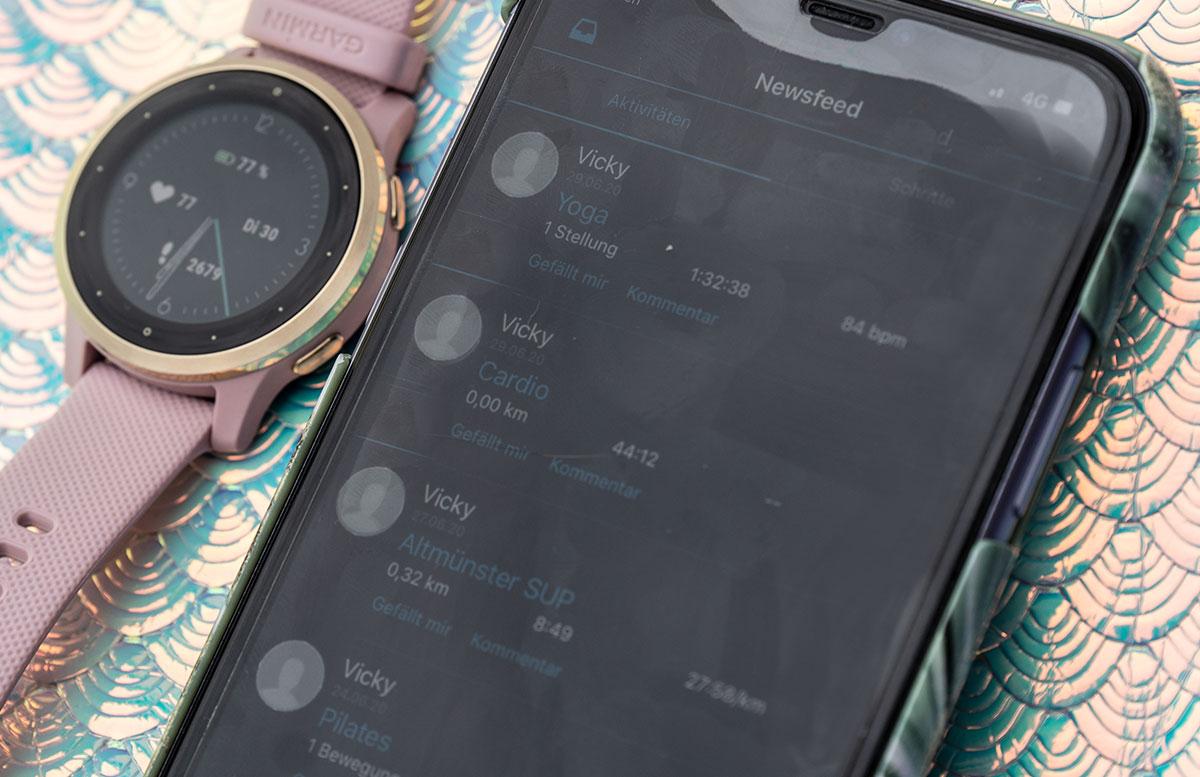 Garmin-vivoactive-4S-Fitness-Smartwatch-sportliche-aktivitäten