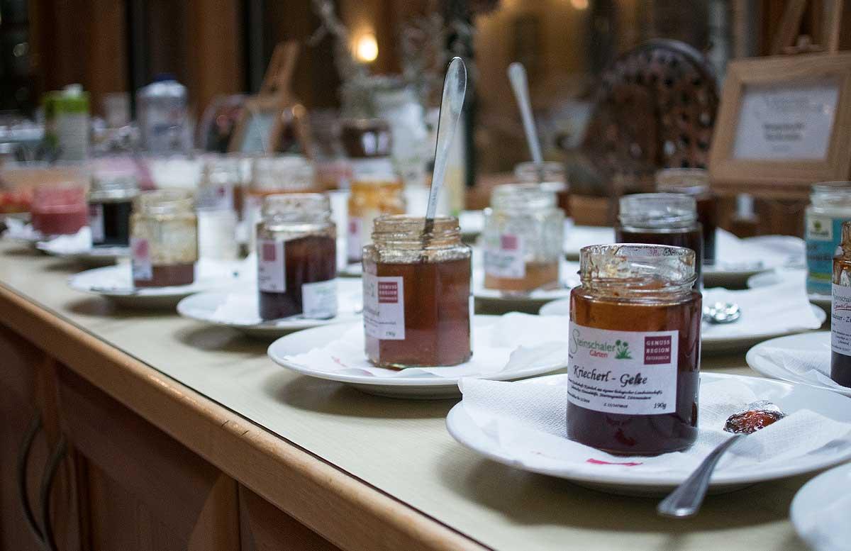 Genussreise ins Mostviertel - Von Dirndln und Heilkräutern marmeladen