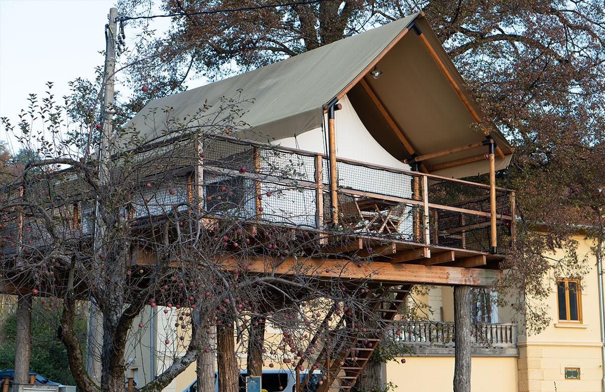 Glamping Resort Chateau Ramsak in Maribor baumhaus