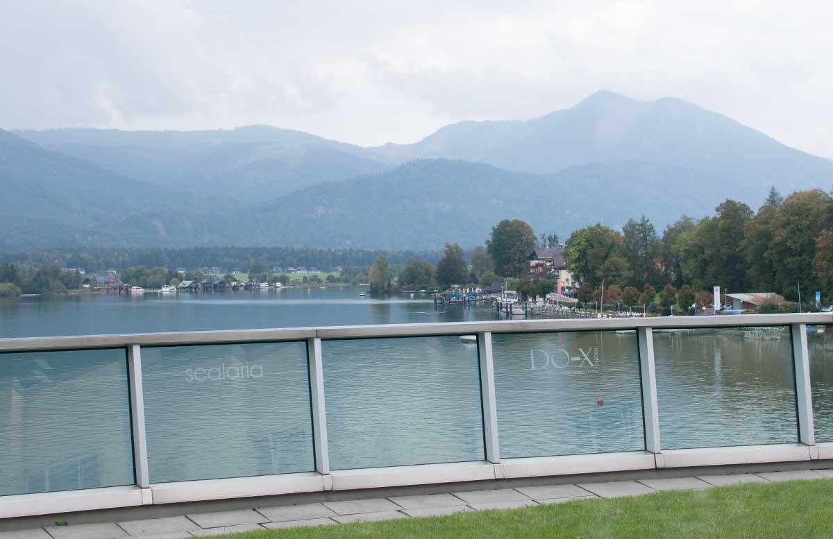 Haarmania 2017 Ausflug nach St. Wolfgang aussicht terrasse