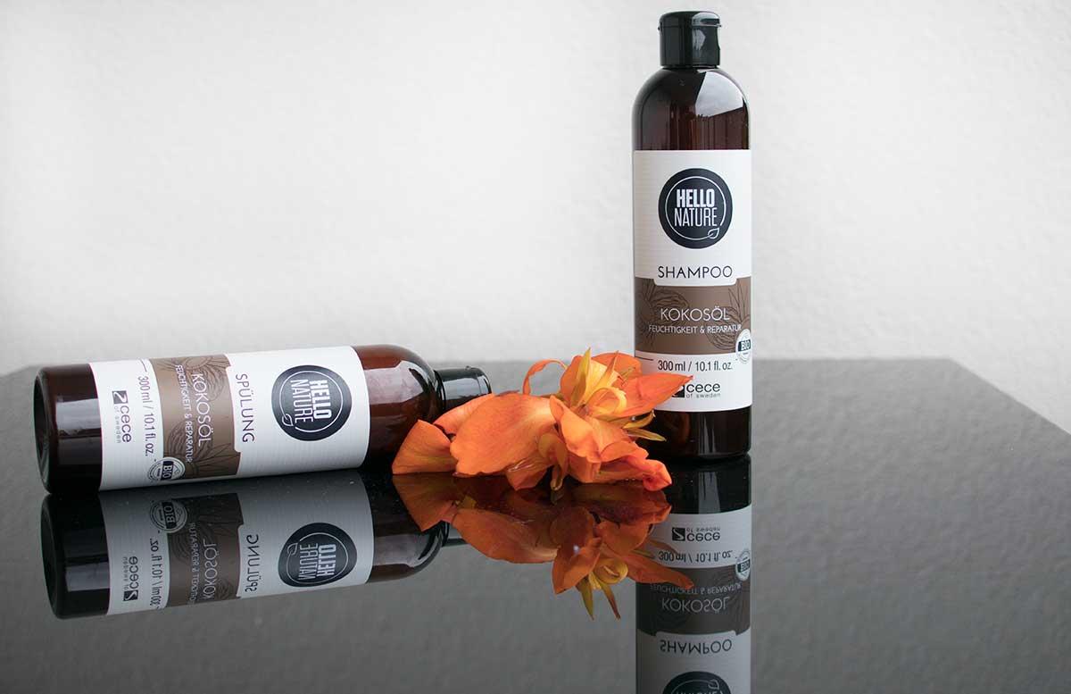 HELLO NATURE Haarprodukte mit Kaviar und Kokosöl kokosserie
