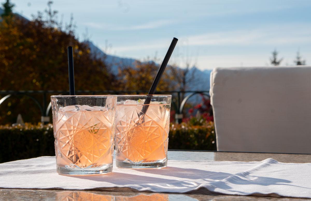 Herbstferien-im-Hotel-Oberforsthof-in-St.-Johann-limonade