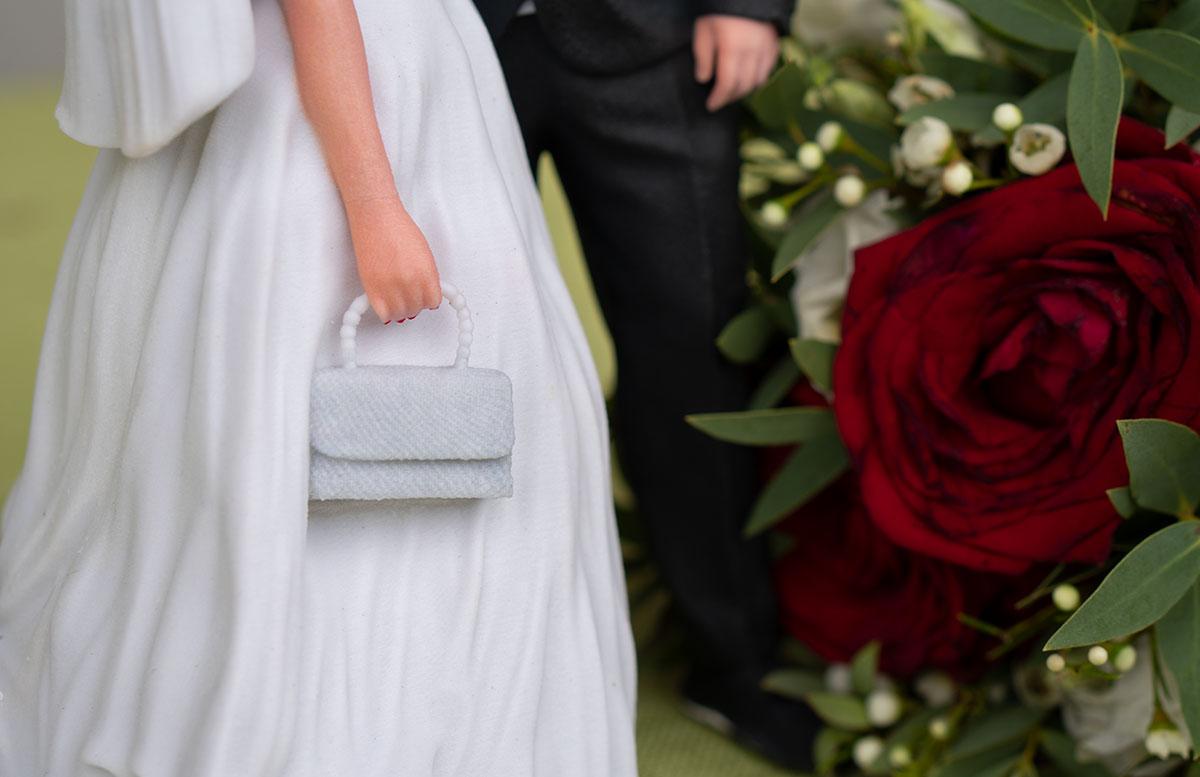 Hochzeitspaar-3D-Figur-von-3D-Generation-tasche-detail