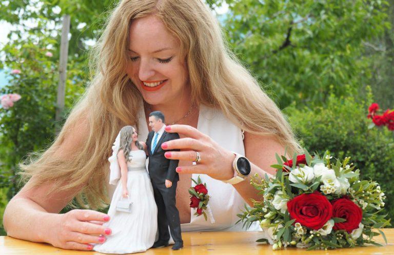 Hochzeitspaar 3D-Figur von 3D Generation