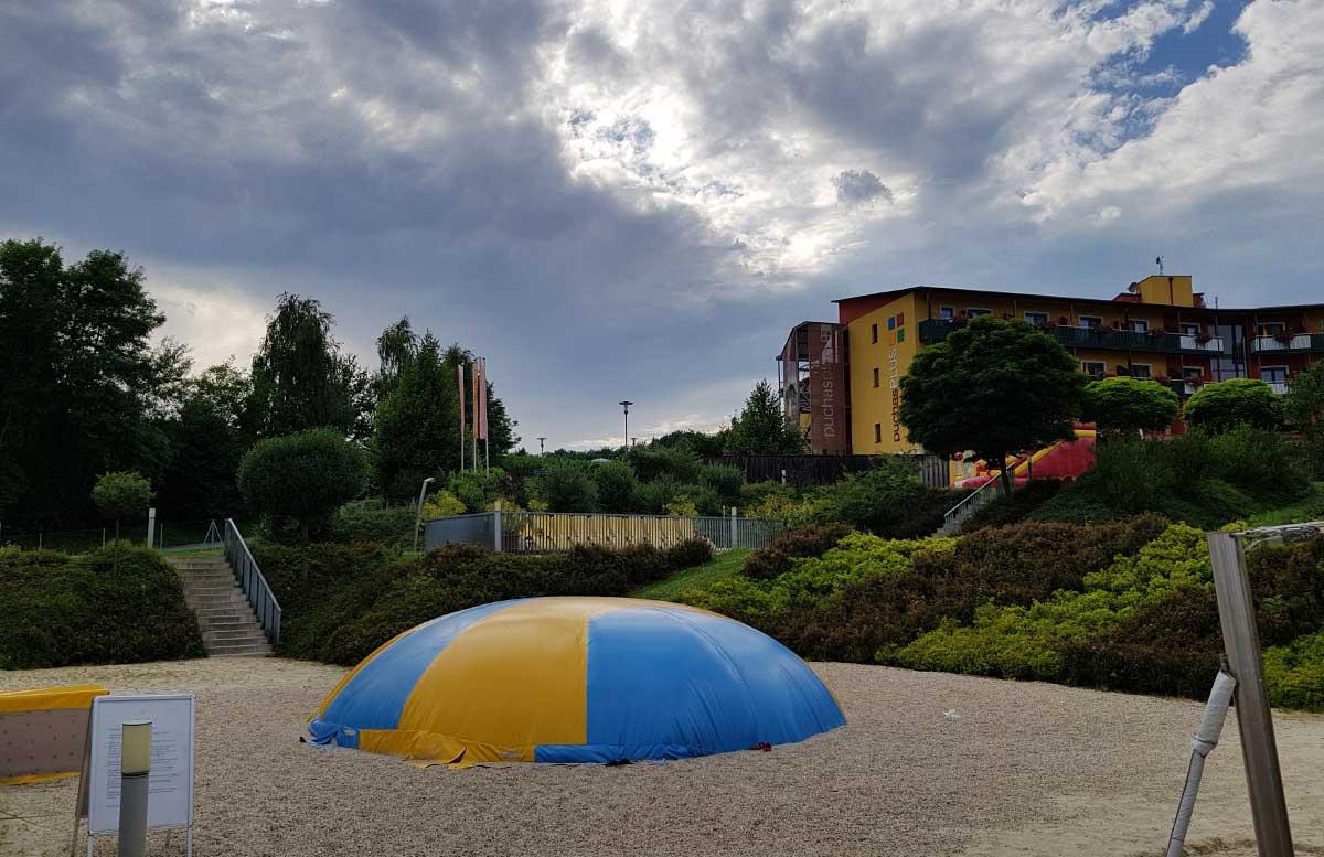 Hotel Allegria Resort Stegersbach by Reiters spielebereich outdoor aqua splash pad