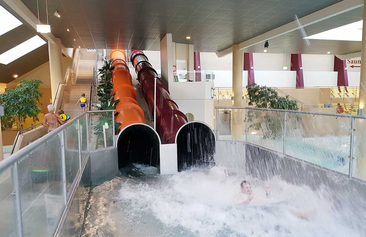 Hotel Allegria Resort Stegersbach by Reiters poolbereich high speed rutsche