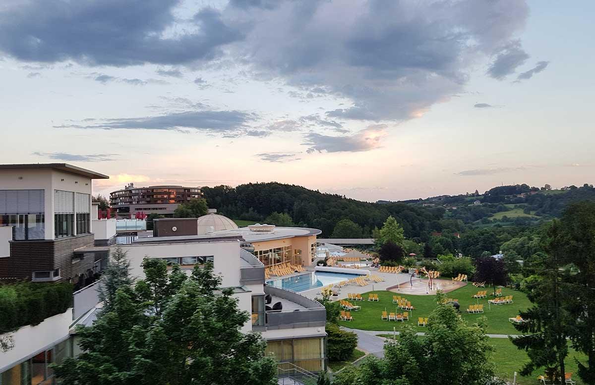 Hotel Allegria Resort Stegersbach by Reiters anlage aussen pool