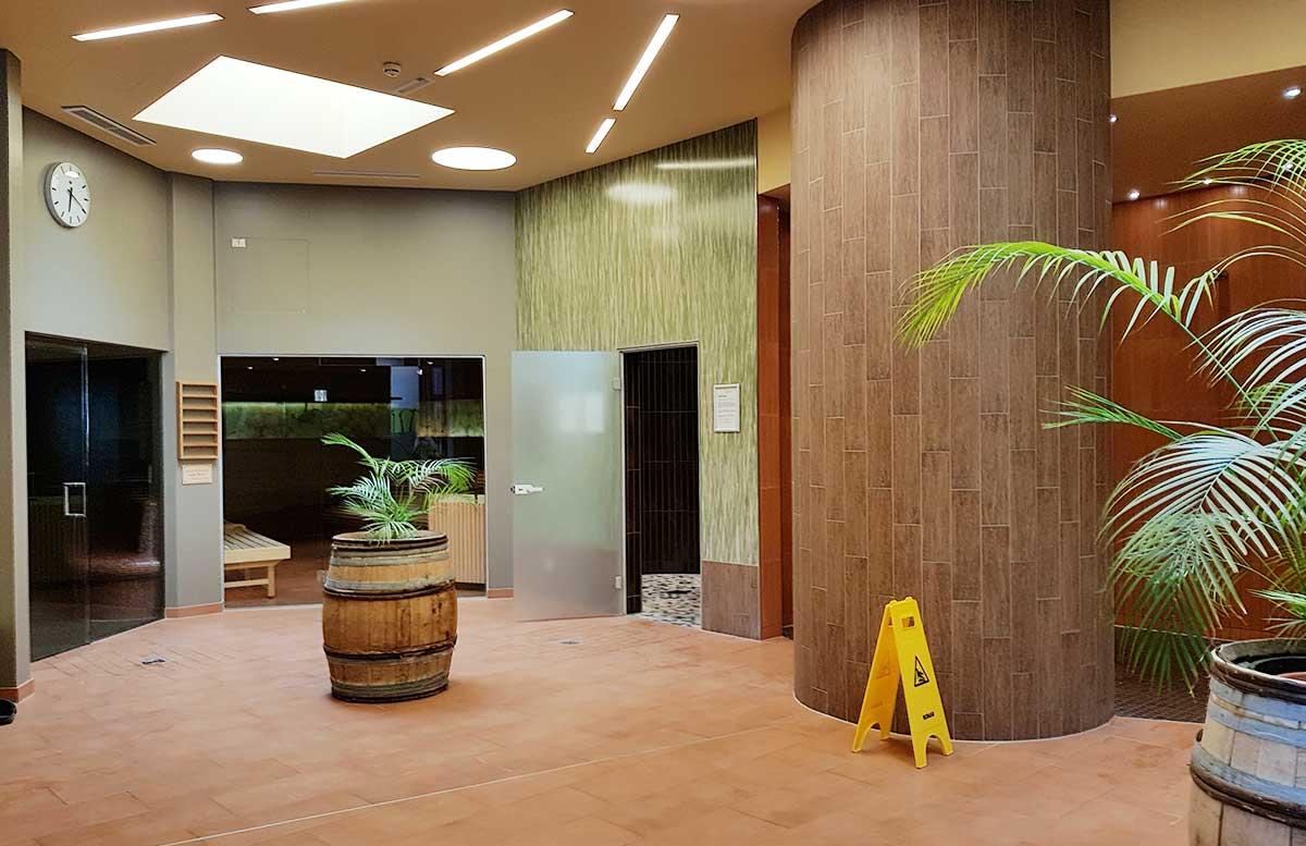 Hotel Allegria Resort Stegersbach by Reiters wellnessbereich sauna