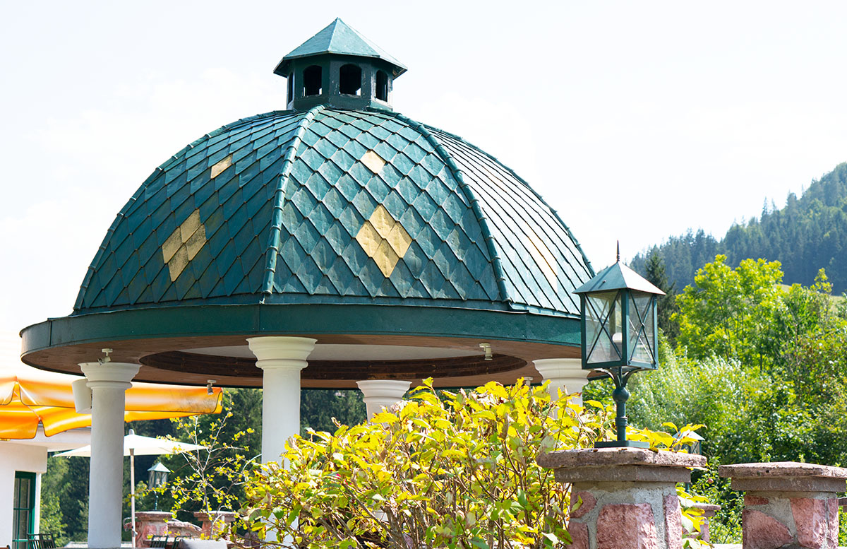 Hotel Gasteiger Jagdschlössl in St. Johann in Tirol kuppe
