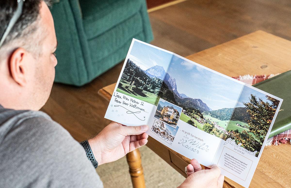 Hotel Gasteiger Jagdschlössl in St. Johann in Tirol prospekt