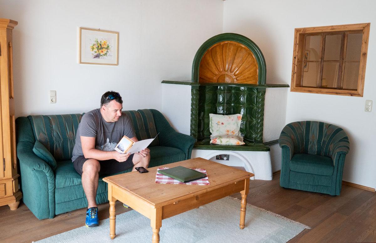Hotel Gasteiger Jagdschlössl in St. Johann in Tirol wohnzimmer mario