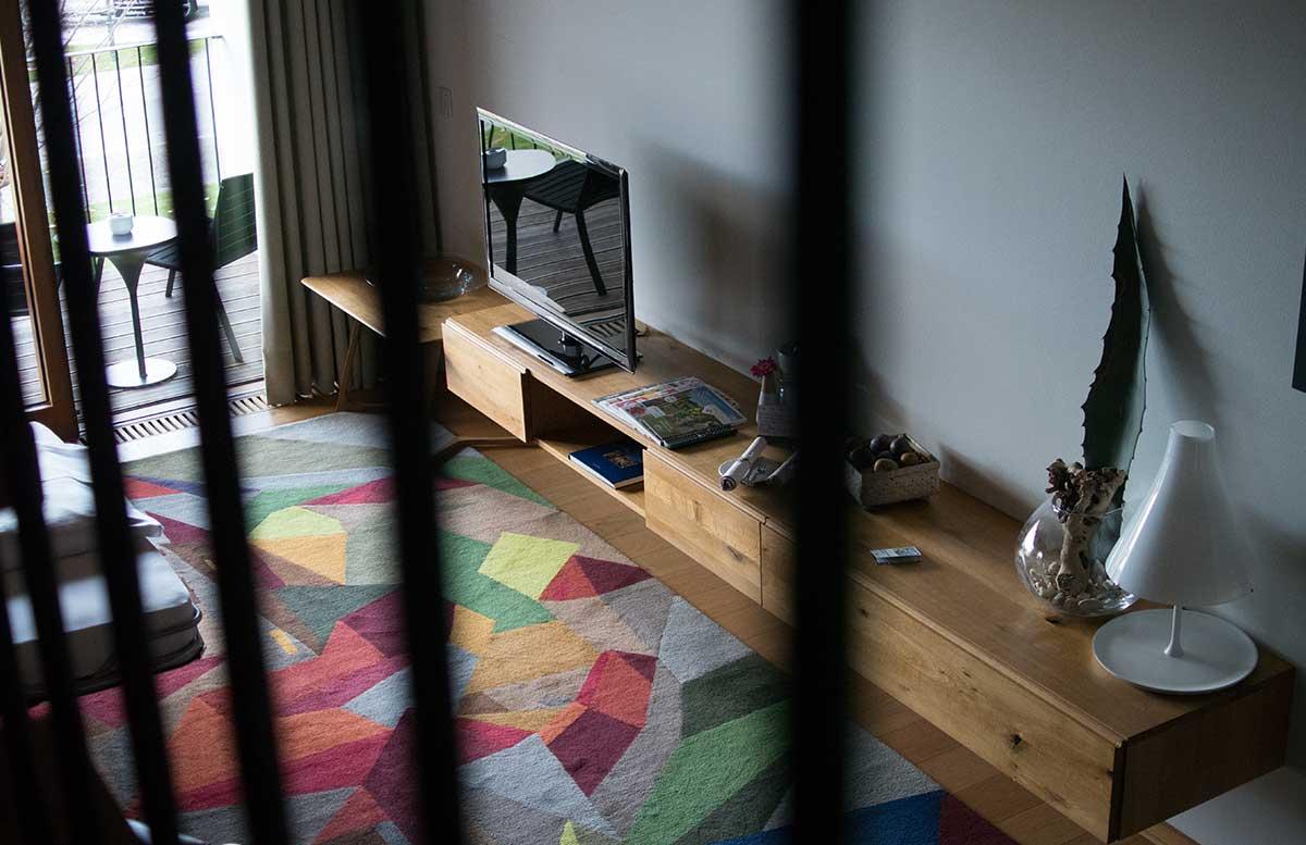 Hotel-Gschlössl-Murtal-in-Großlobming-maisonette-sicht-von-oben
