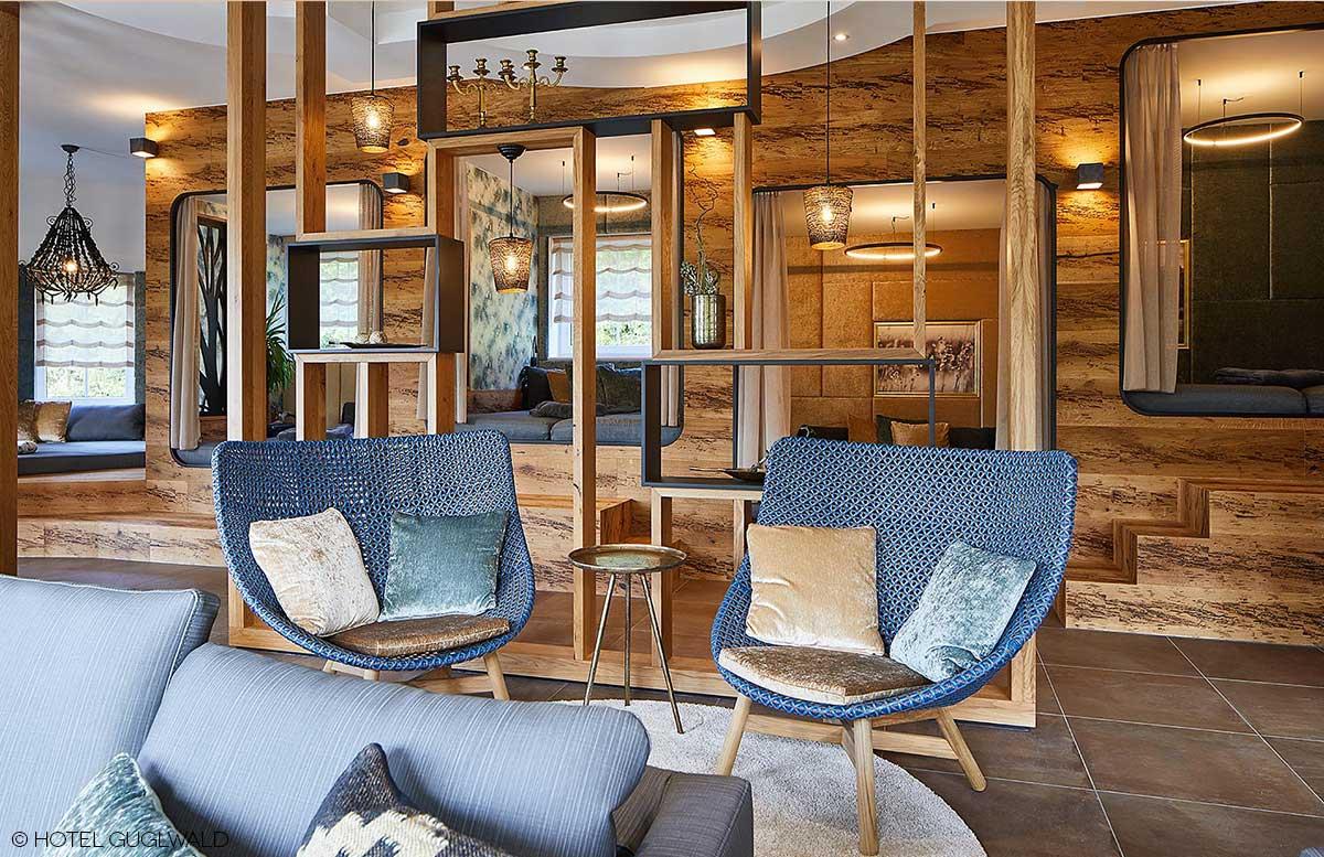 Hotel Guglwald 4 Sterne Superior Wellness ruhebereich