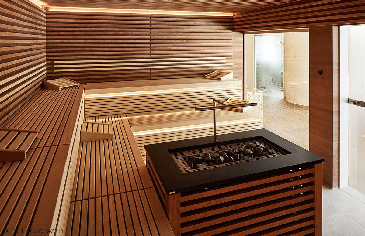Hotel Guglwald 4 Sterne Superior Wellness sauna
