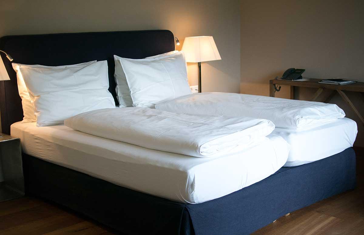 Hotel Gut Weissenhof in Radstadt schlafzimmer bett
