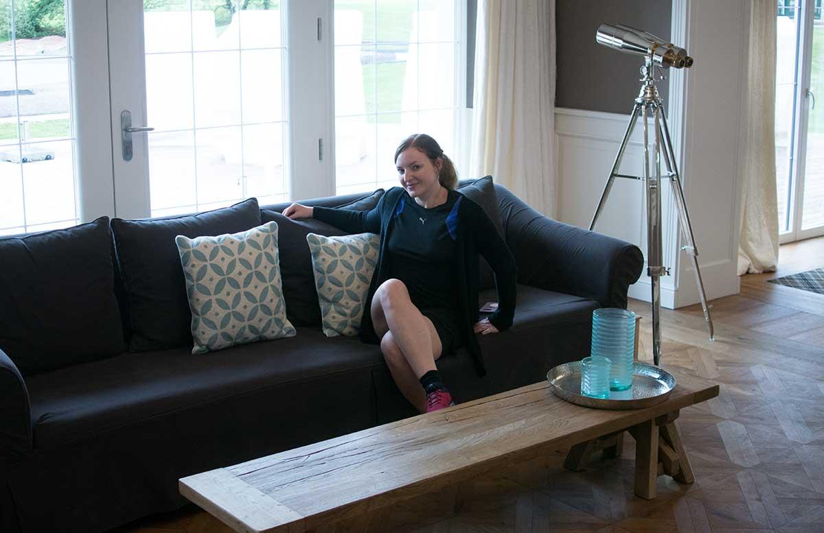 Hotel Gut Weissenhof in Radstadt das hotel couch in der lobby