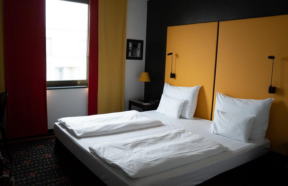 Hotel angelo by Vienna House Prague zimmer