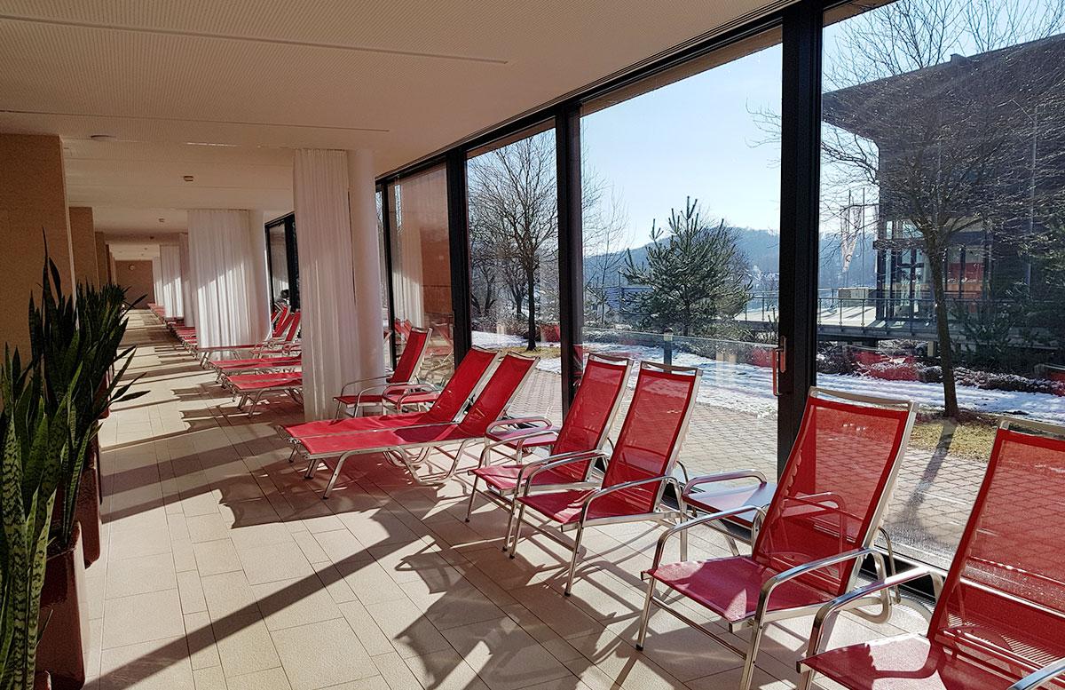 Thermenhotel DAS SONNREICH in Loipersdorf pool bereich