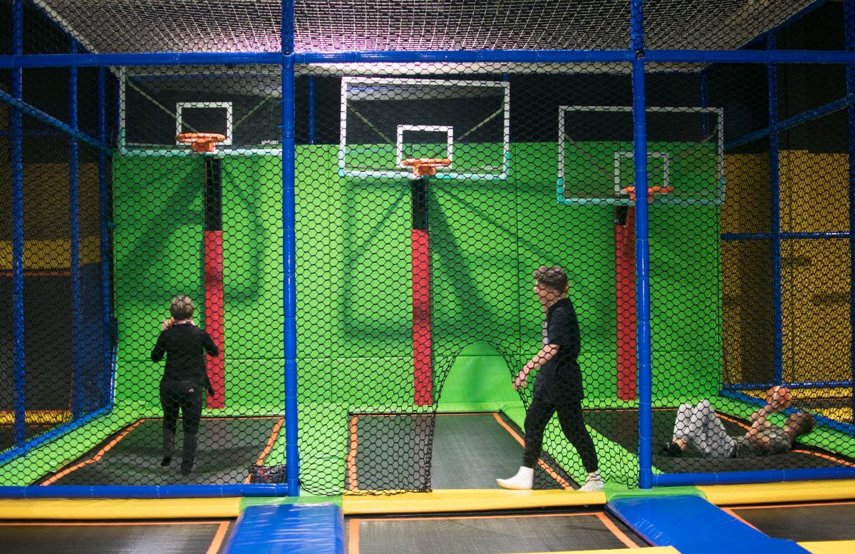 JumpMAXX Trampolinwelt mit Ninja-Parcours in Wien basketball