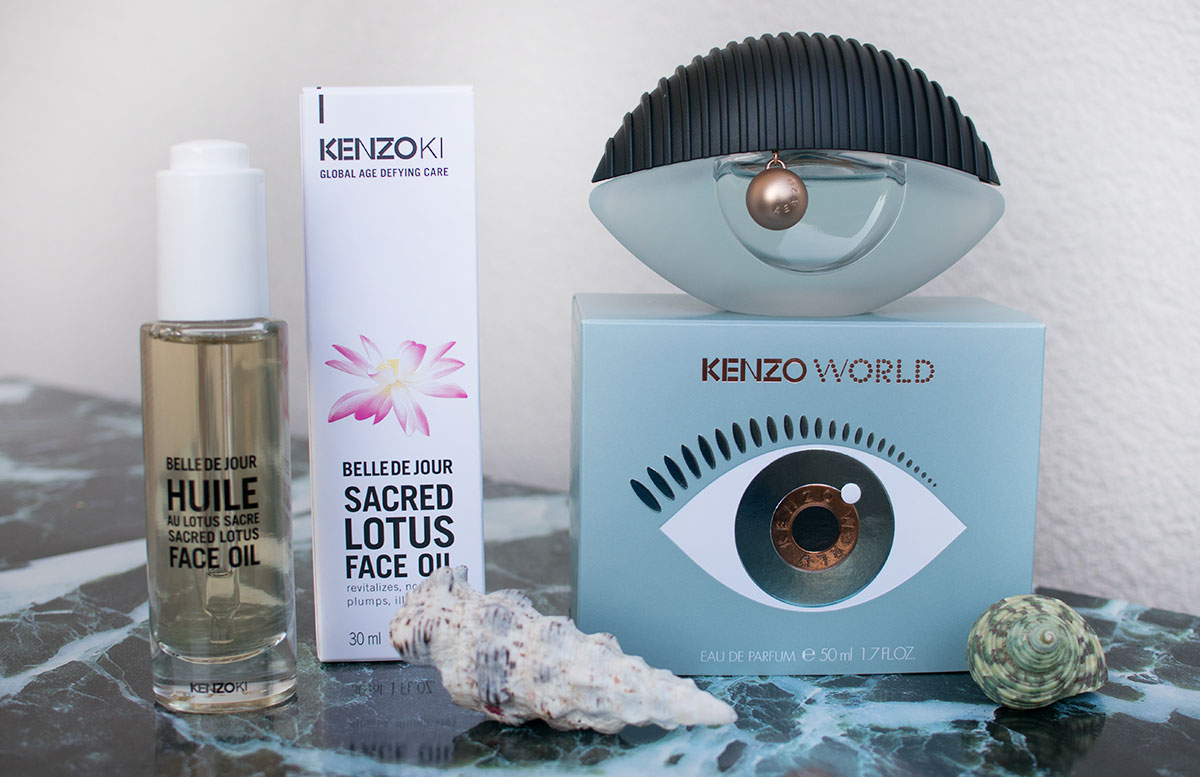 KENZO WORLD und Kenzoki belle de jour face oil