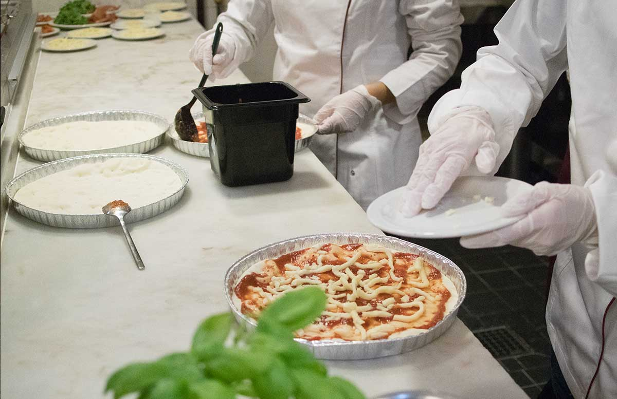 Kochworkshop bei Vapiano glutenfreie Pasta und Pizza glutenfreie alternative wird angeliefert