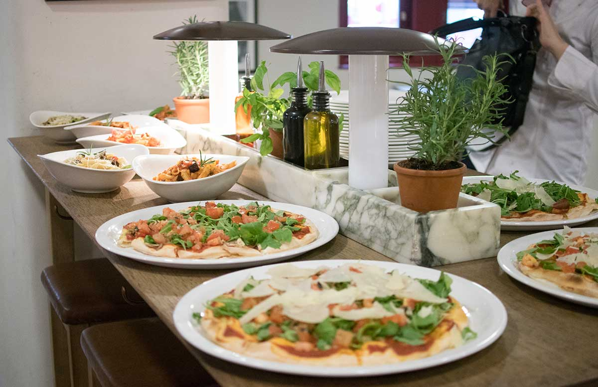 Kochworkshop bei Vapiano glutenfreie Pasta und Pizza vegane bruschetta alternative
