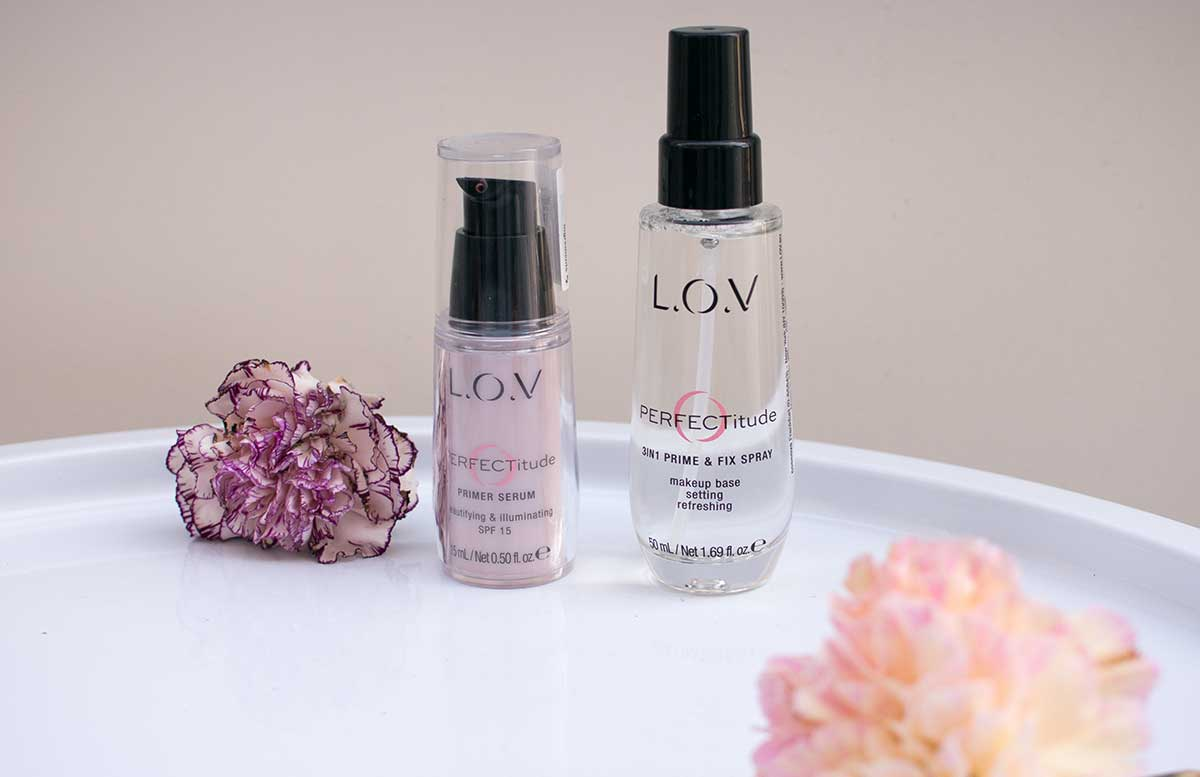 L.O.V Cosmetics Perfectitude 3in1 Prime & Fix Spray und Primer Serum